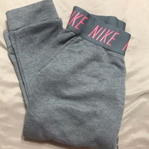 Girls NIKE Dri-fit sweatpants